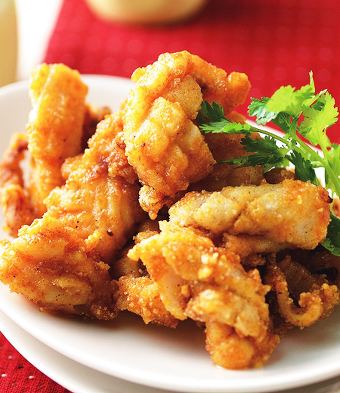 食譜:酥炸咖哩花枝