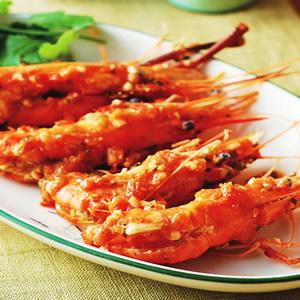 蕃茄檸檬鮮蝦