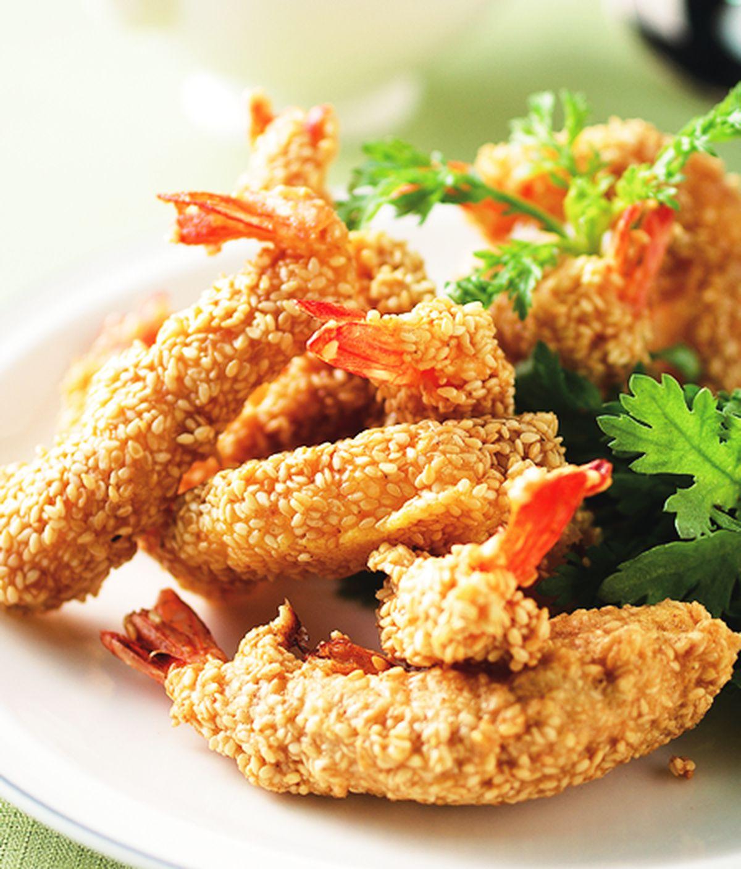 食譜:梅汁炸鮮蝦