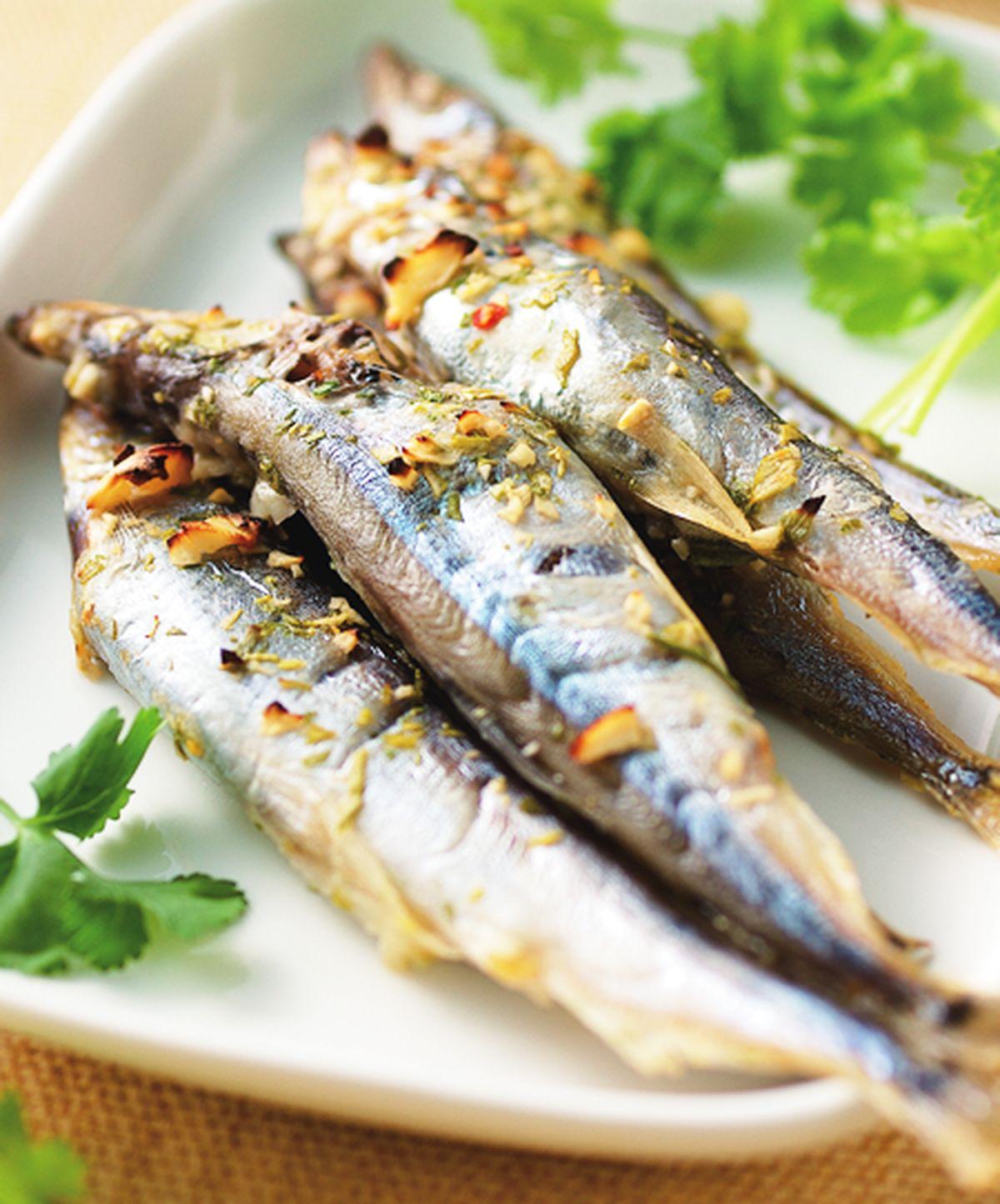 食譜:香茅青檸烤柳葉魚(1)