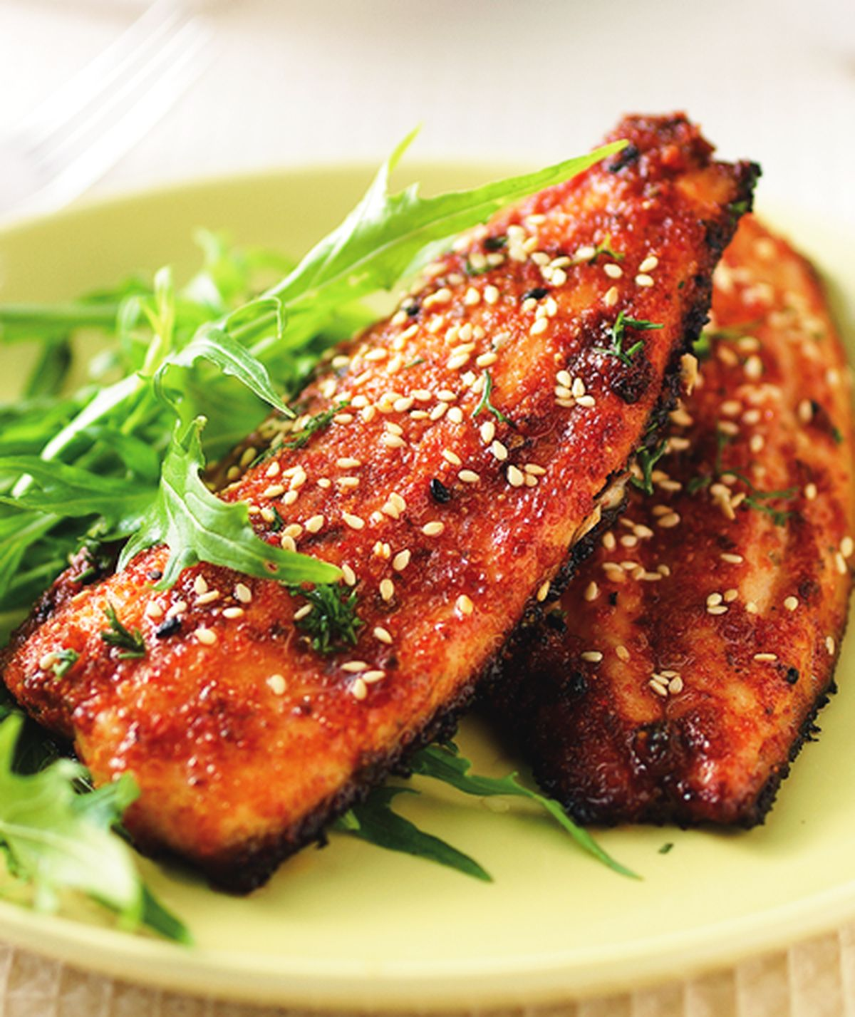 食譜:烤韓式辣味魚肚