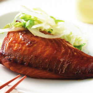 煙燻鯛魚片