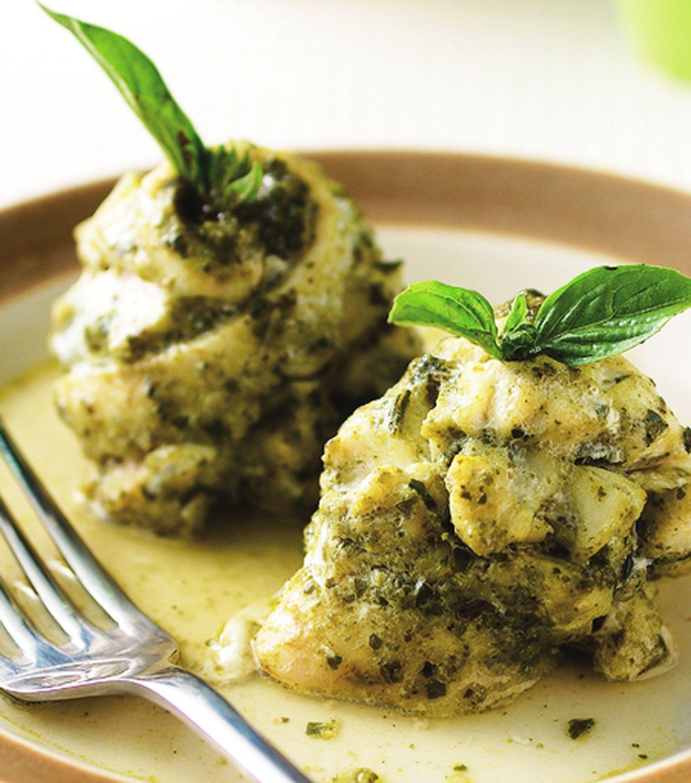 食譜:蒸義式鱸魚捲