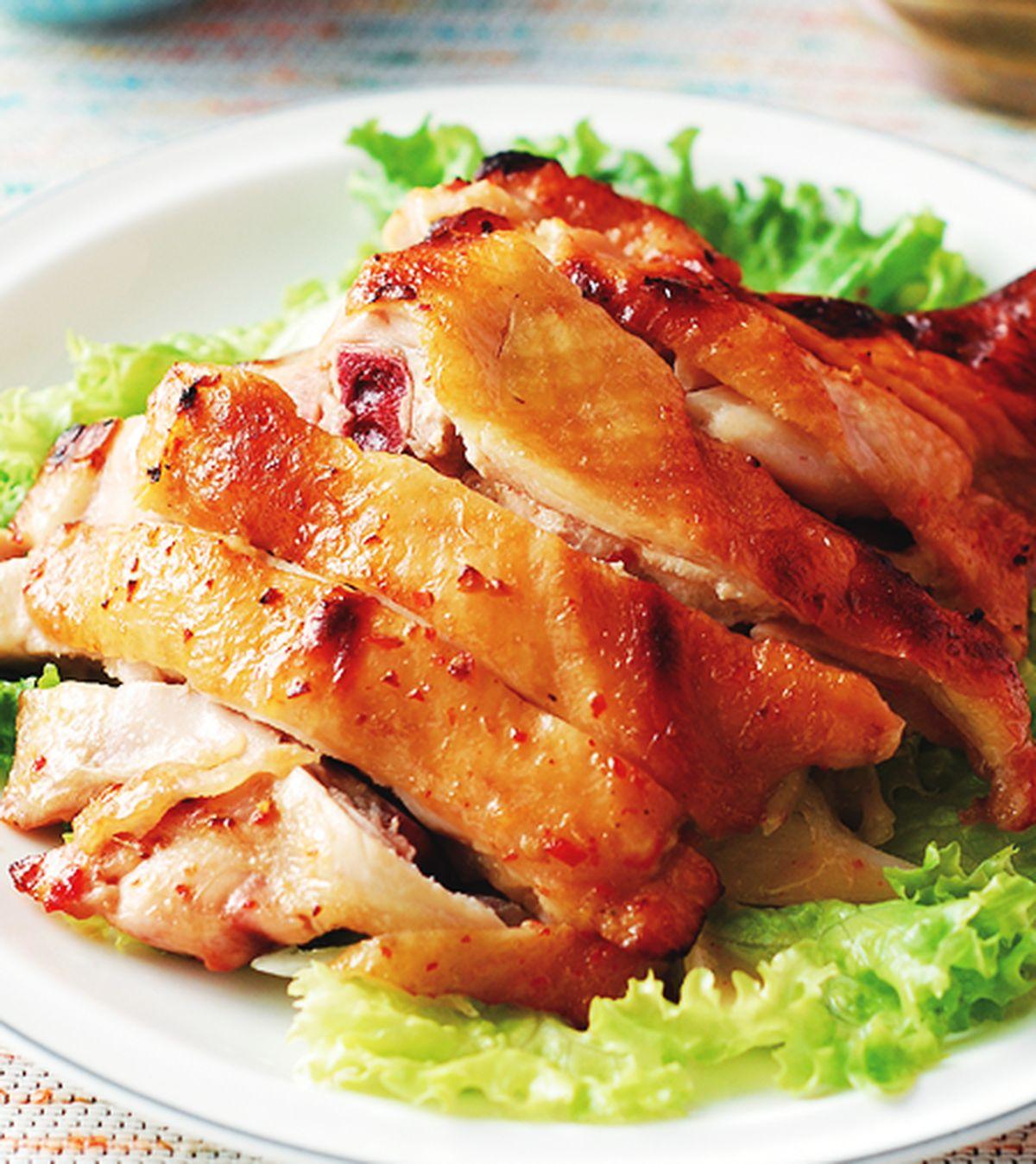 食譜:辣味味噌烤雞腿