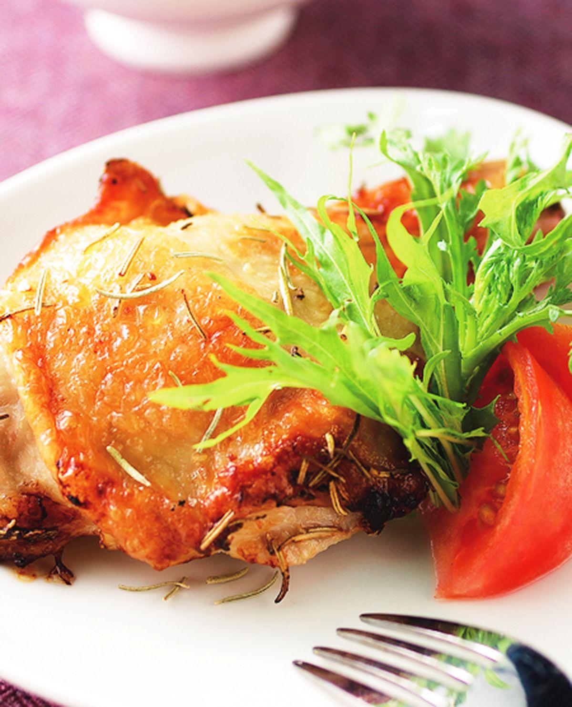 食譜:迷迭香烤雞腿