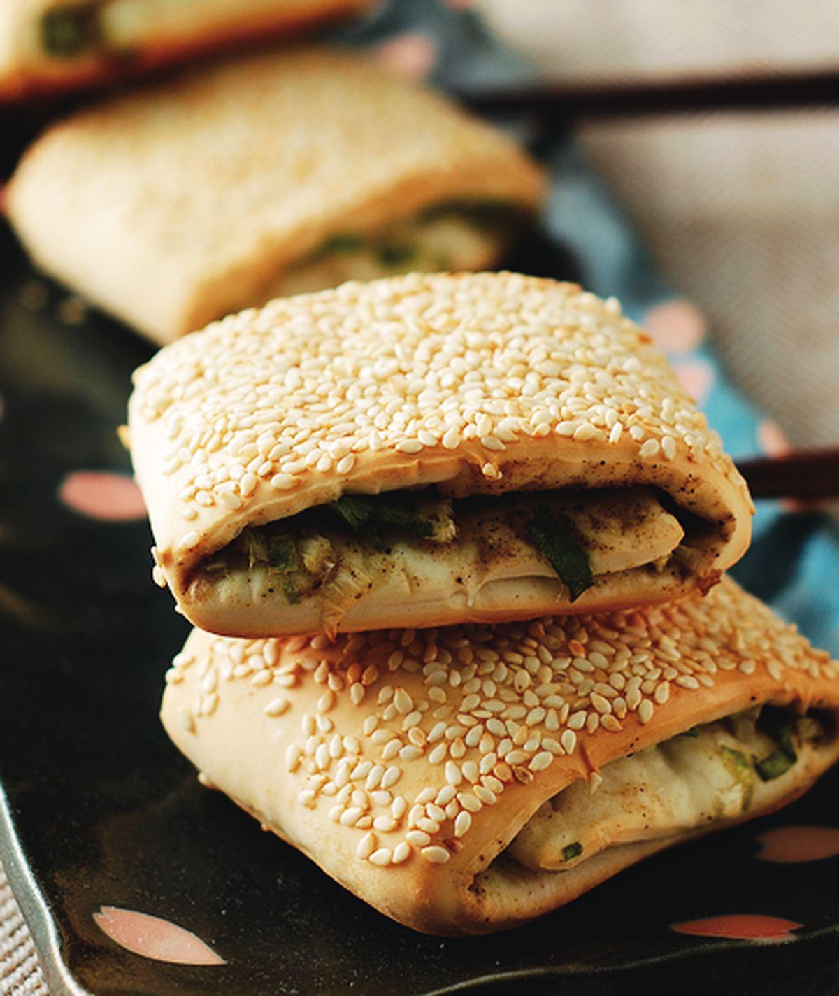 食譜:蔥燒餅(1)
