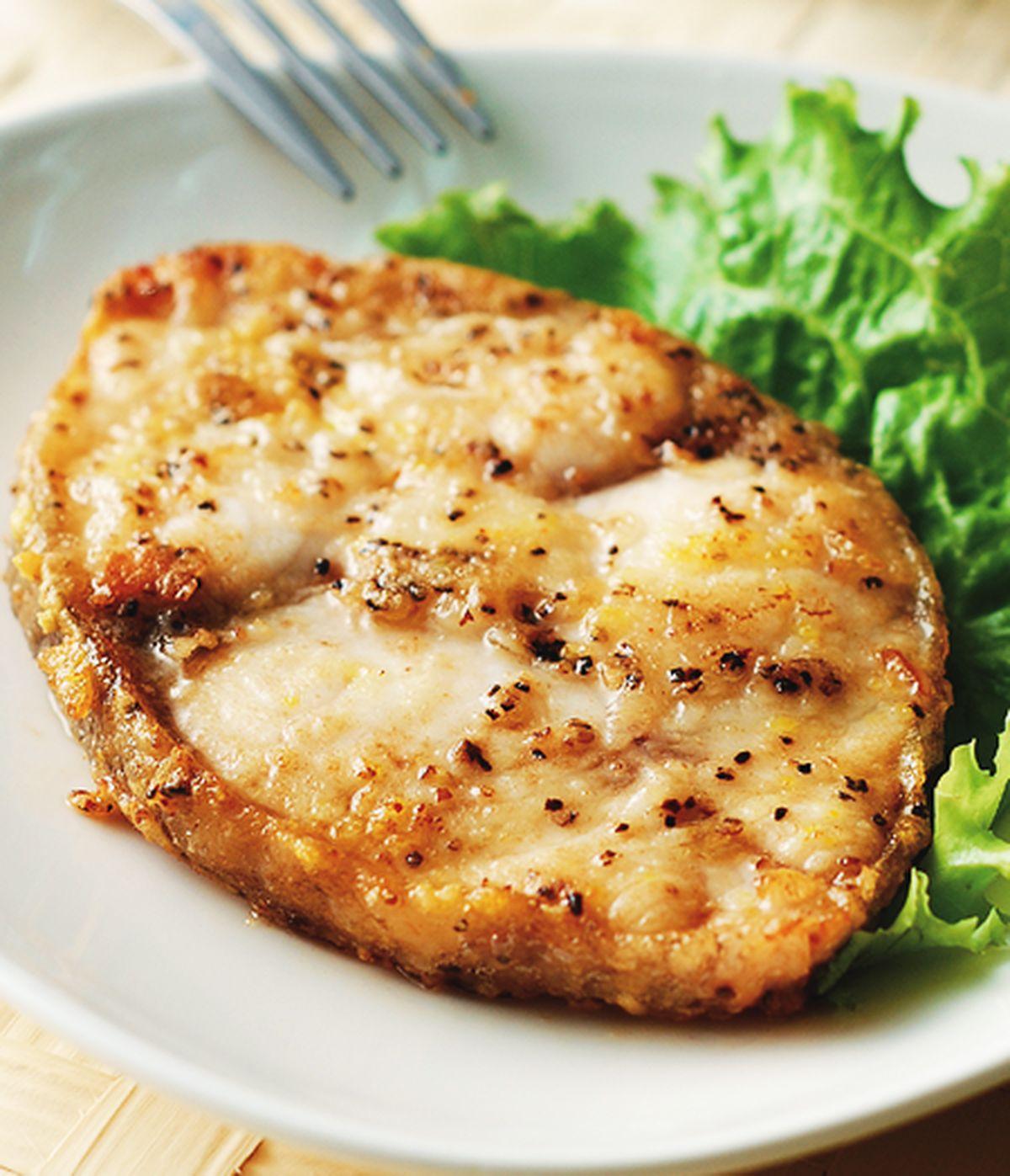 食譜:乾煎鱈魚(1)
