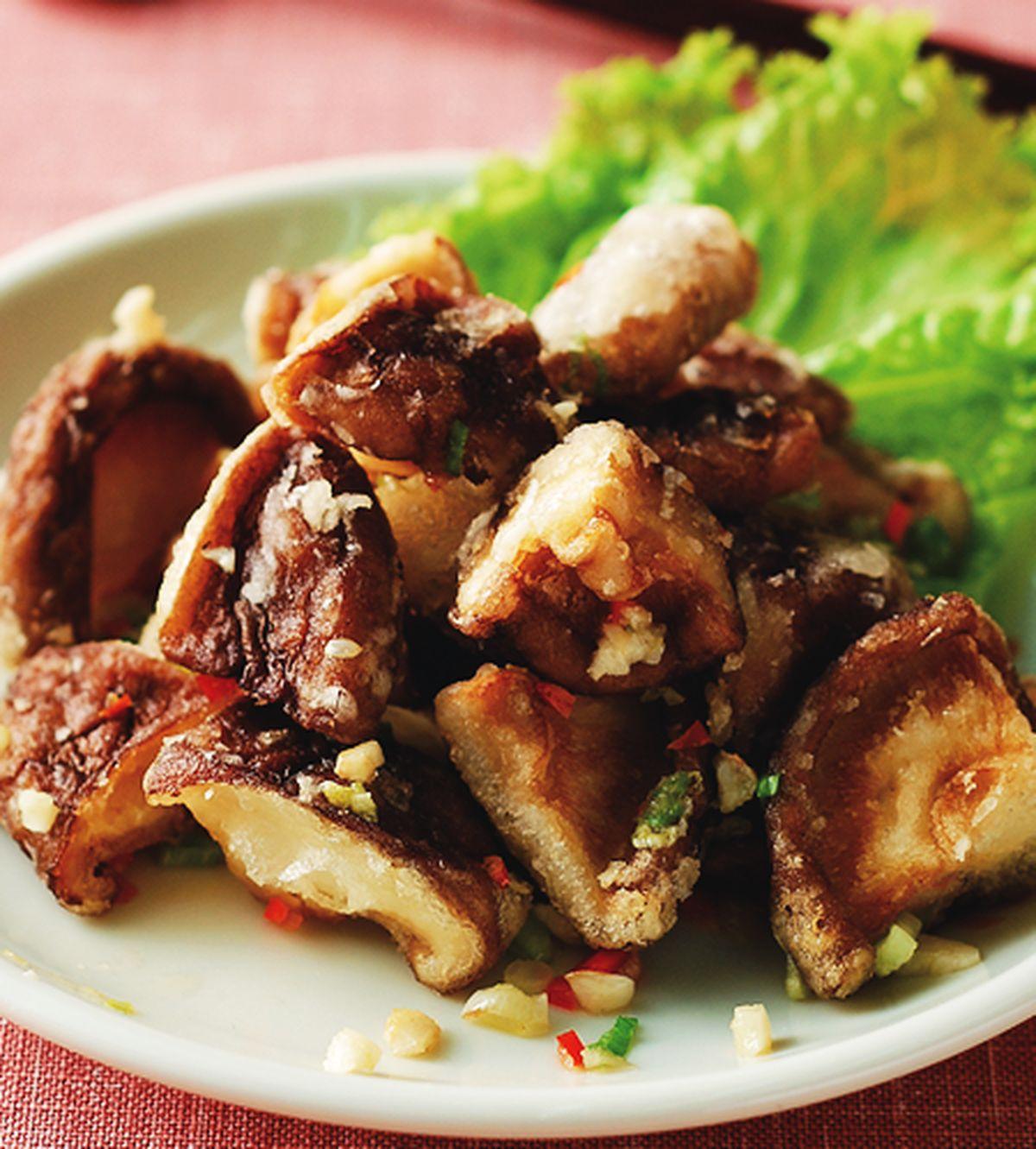 食譜:椒鹽鮮香菇