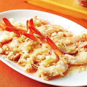 蒜蓉蒸蝦(2)