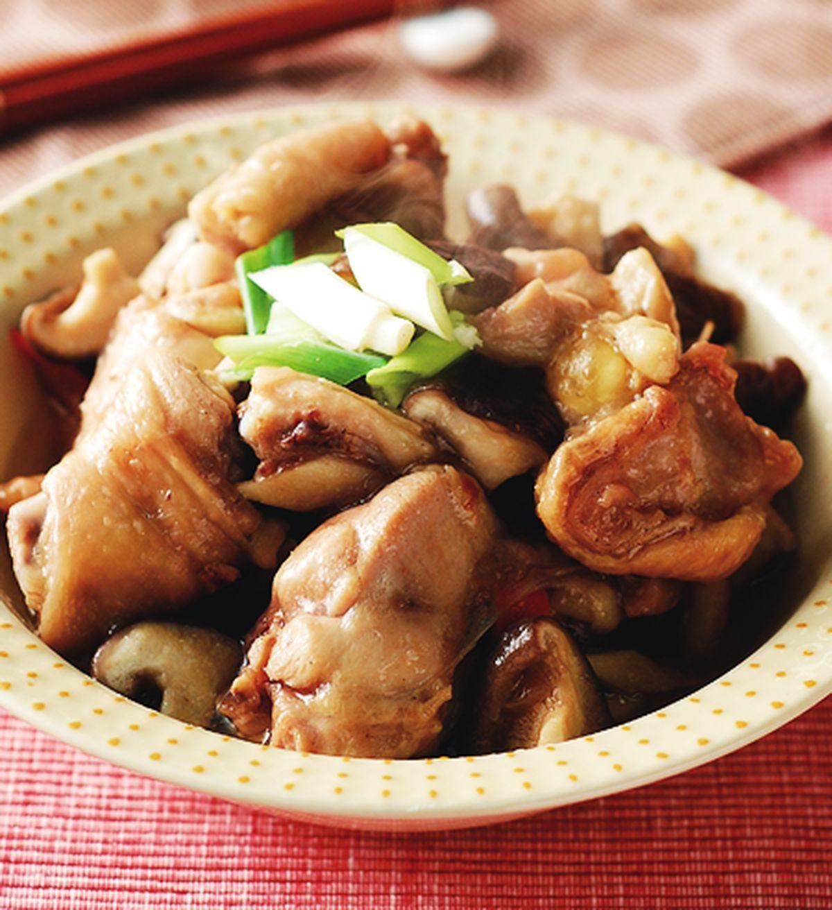 食譜:香菇蒸雞(1)