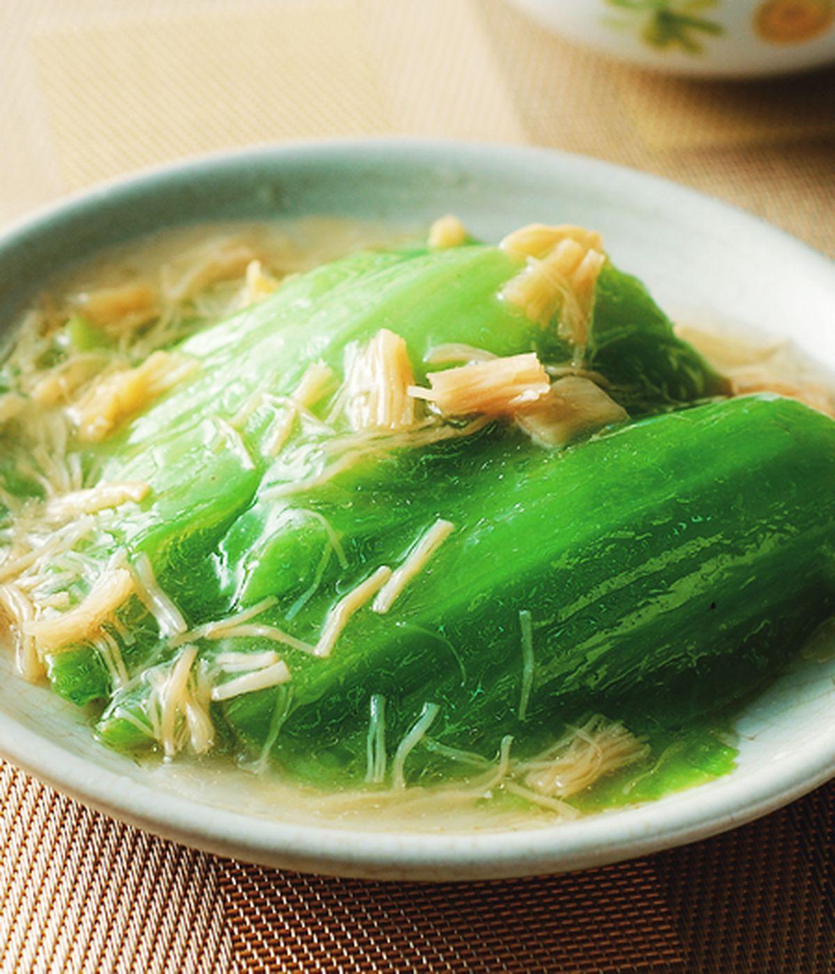 食譜:干貝芥菜