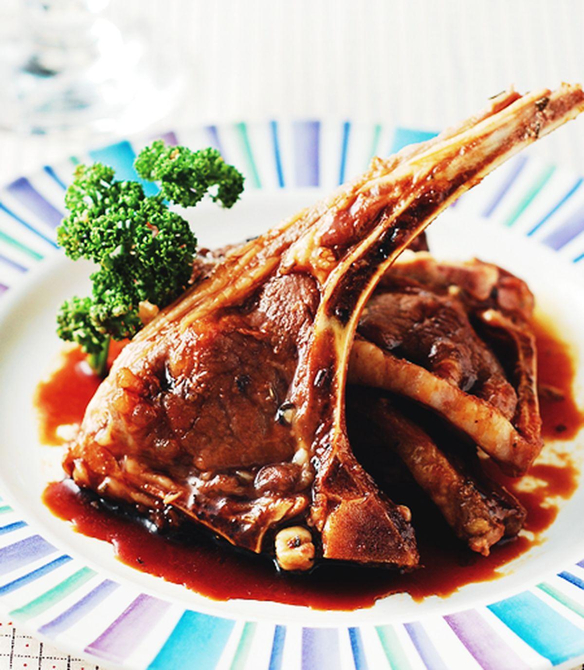 食譜:烤羊排
