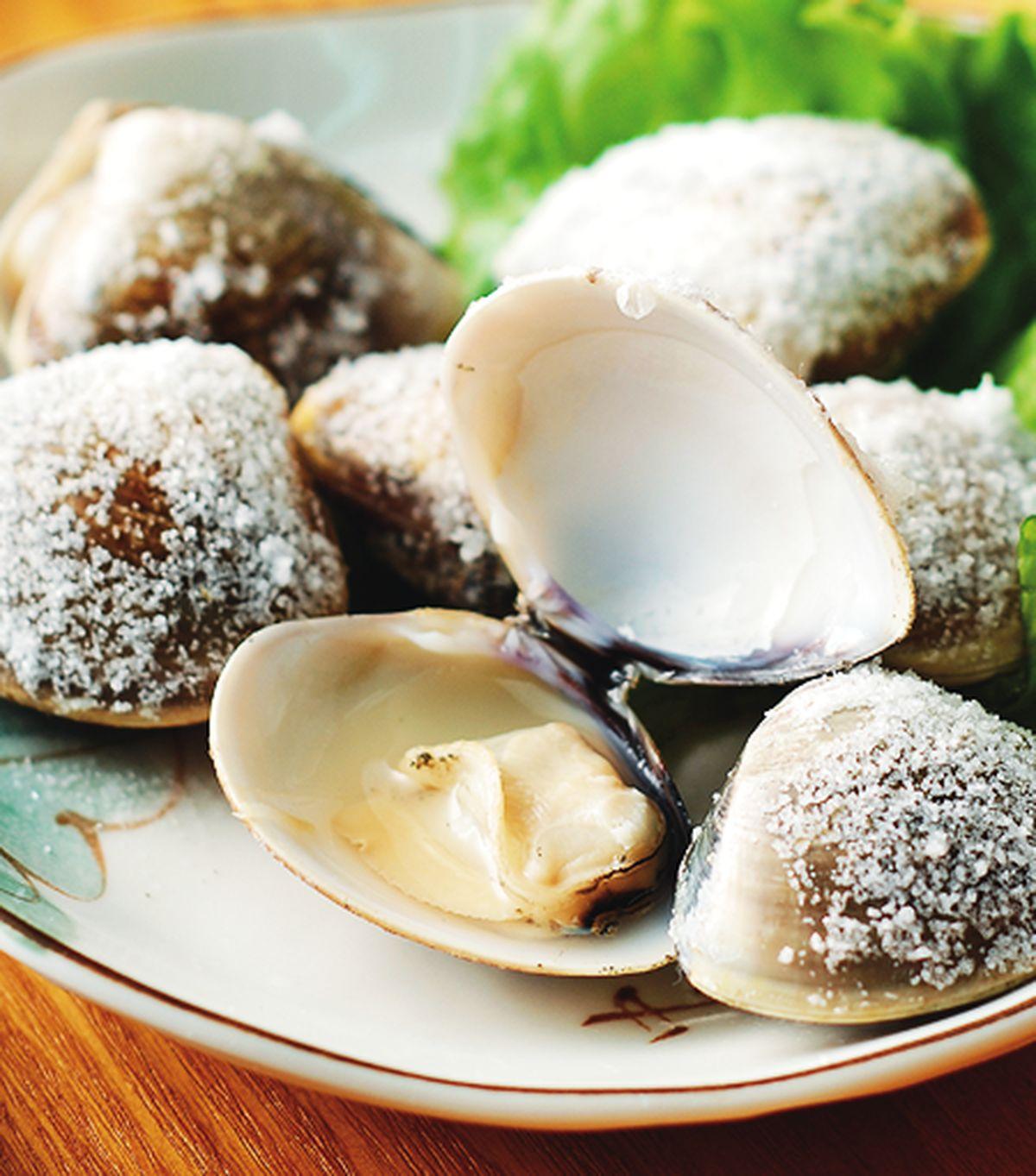 食譜:鹽烤蛤蠣