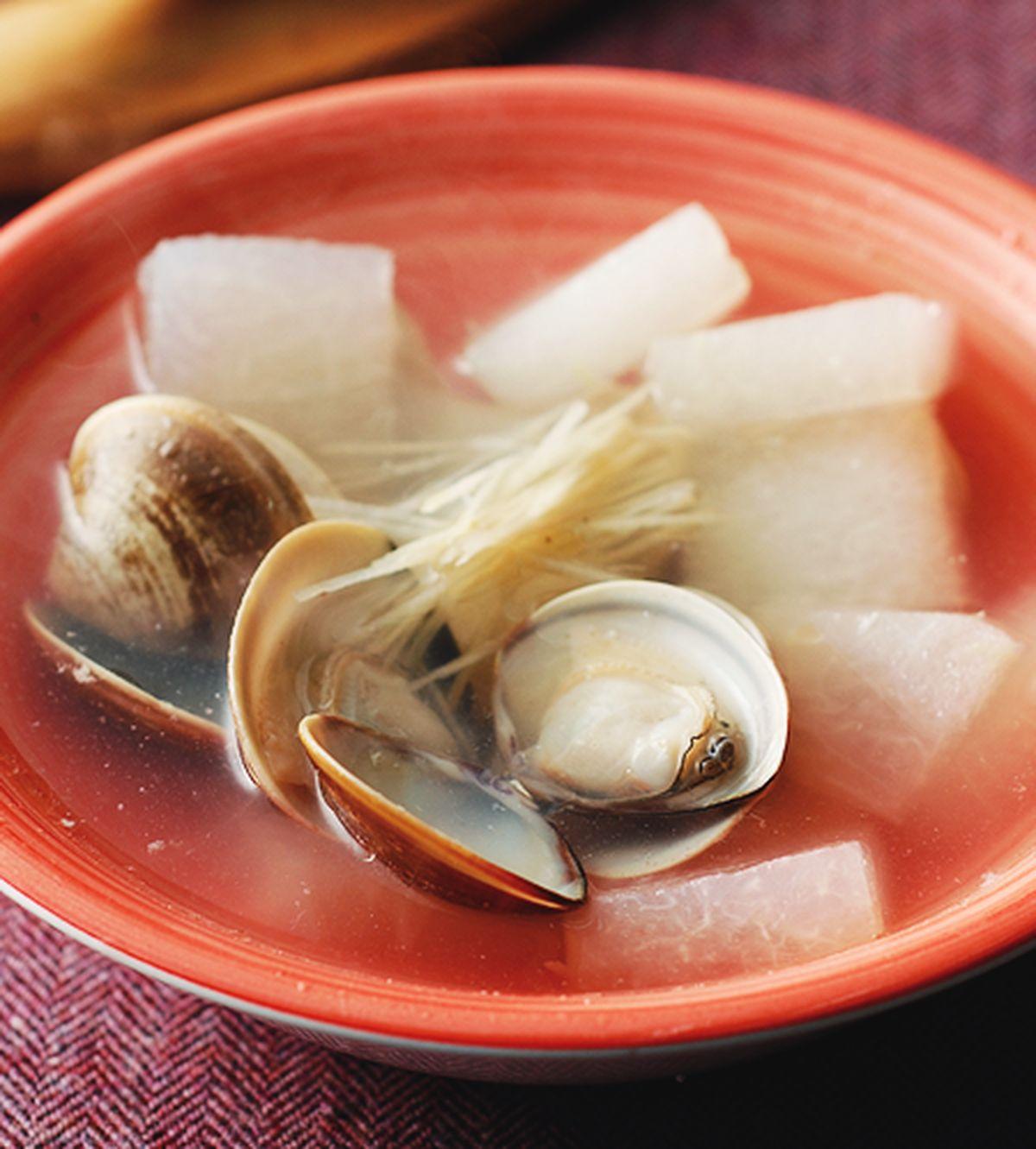 食譜:蛤蜊冬瓜湯