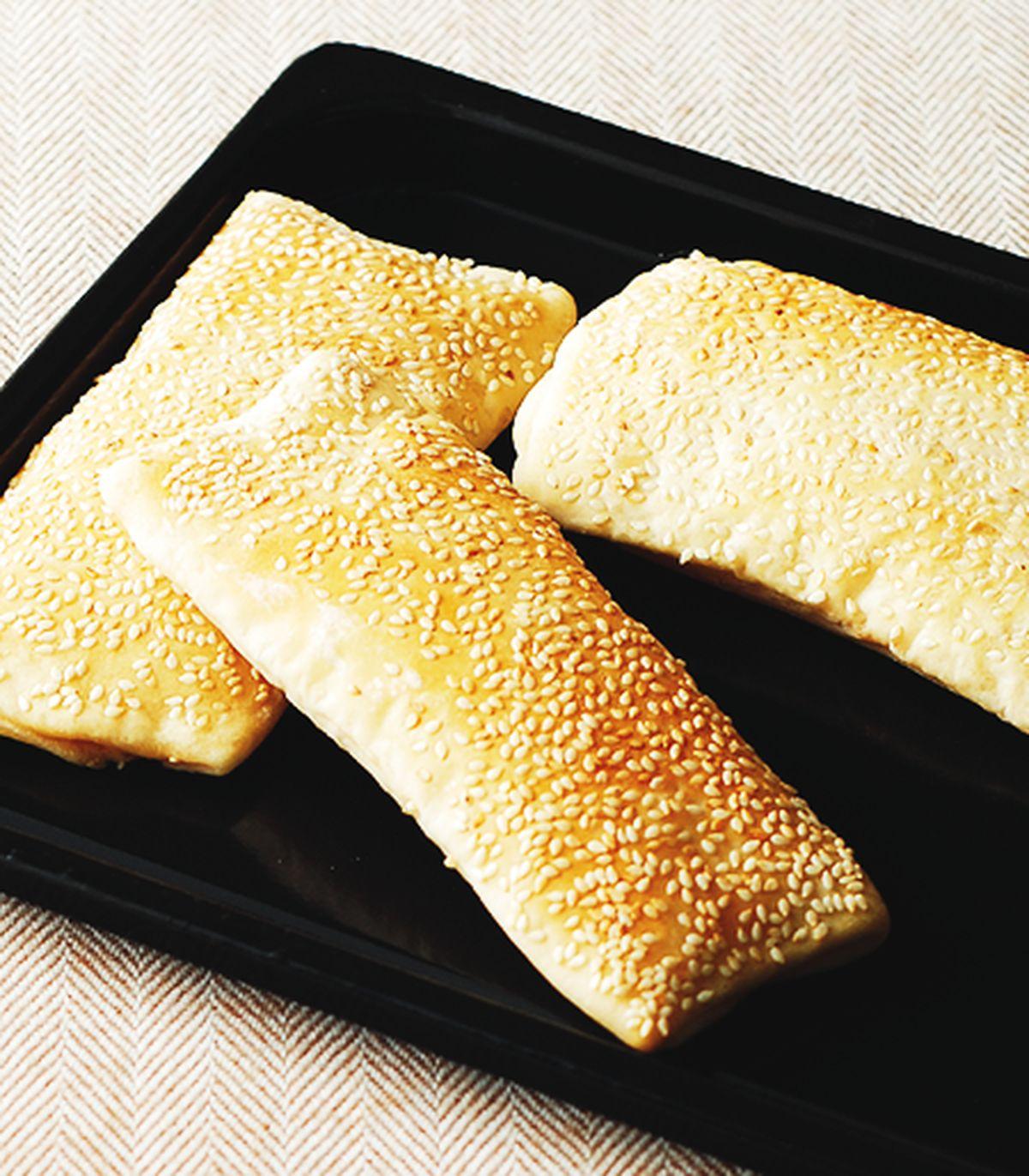 食譜:芝麻燒餅(2)