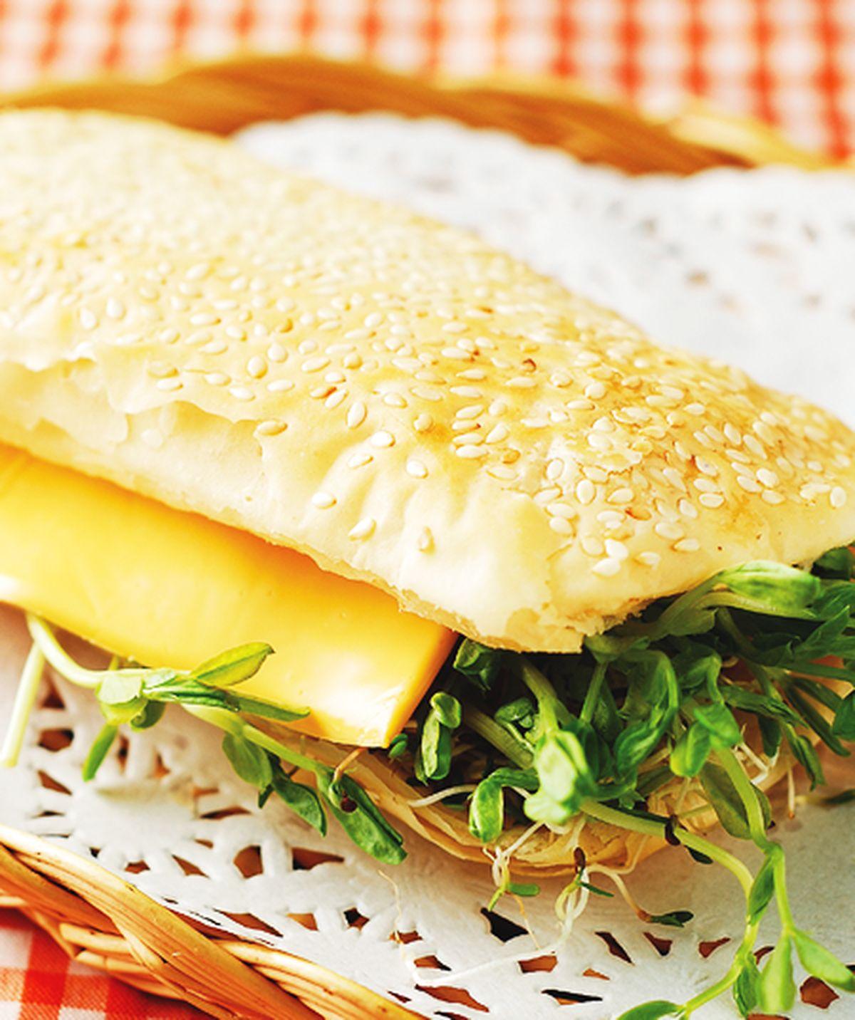 食譜:生菜起司燒餅