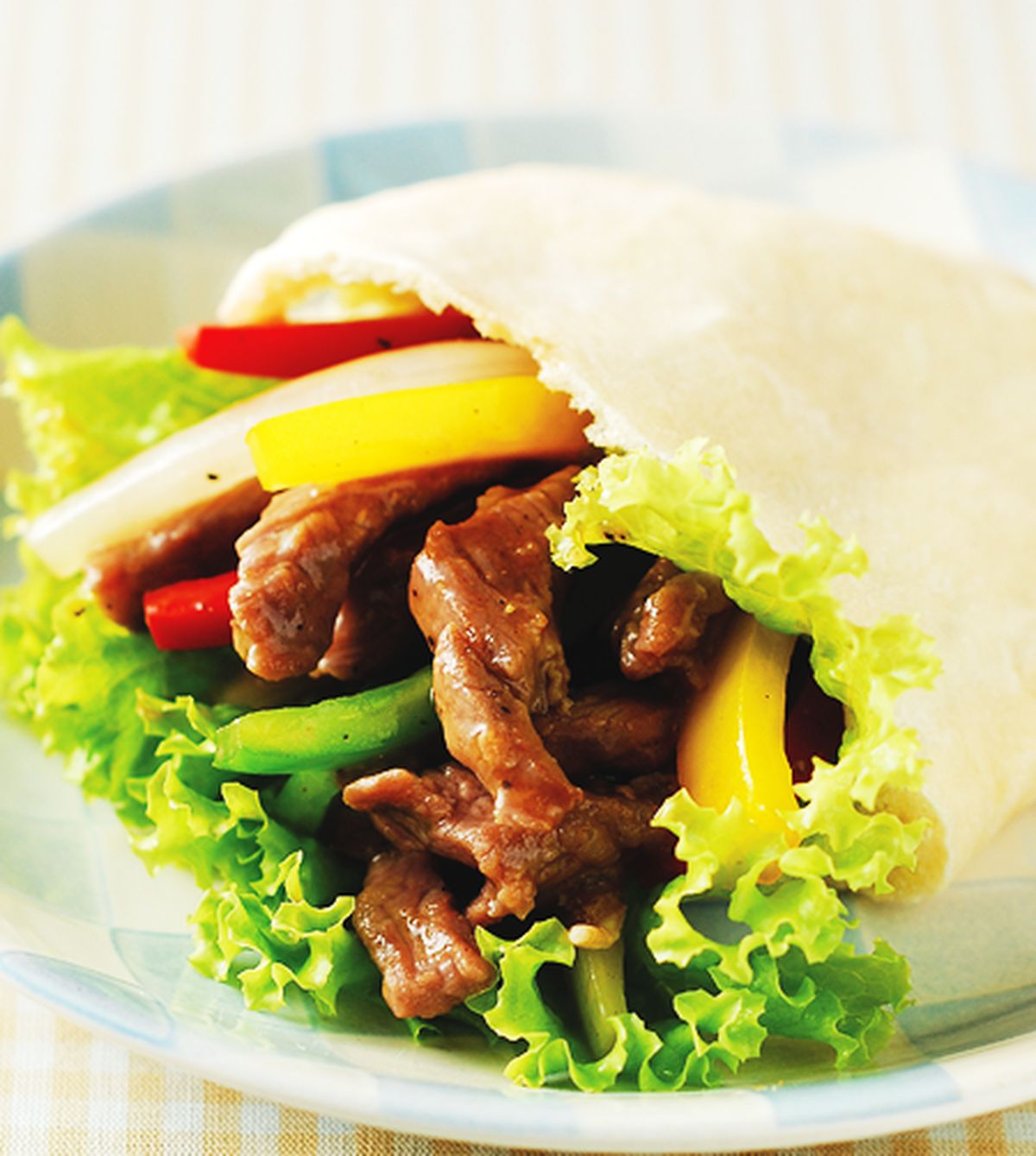 食譜:黑胡椒牛肉口袋餅