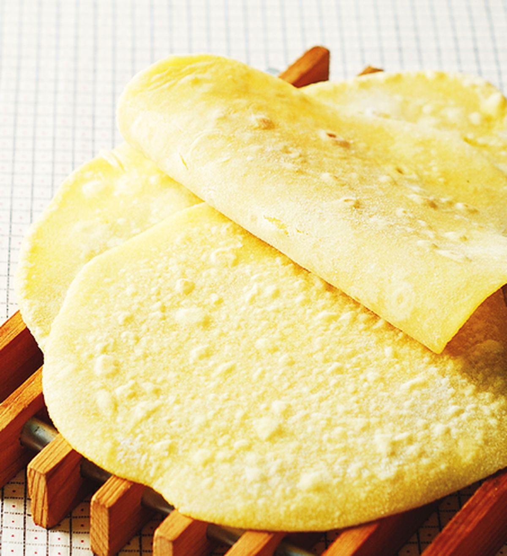 食譜:玉米餅皮