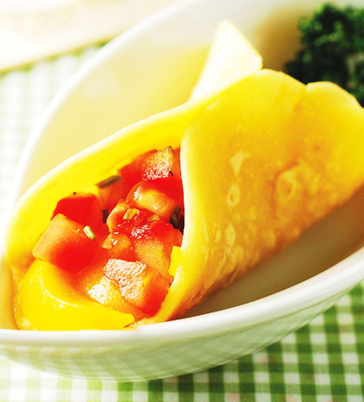 食譜:水果莎莎玉米餅