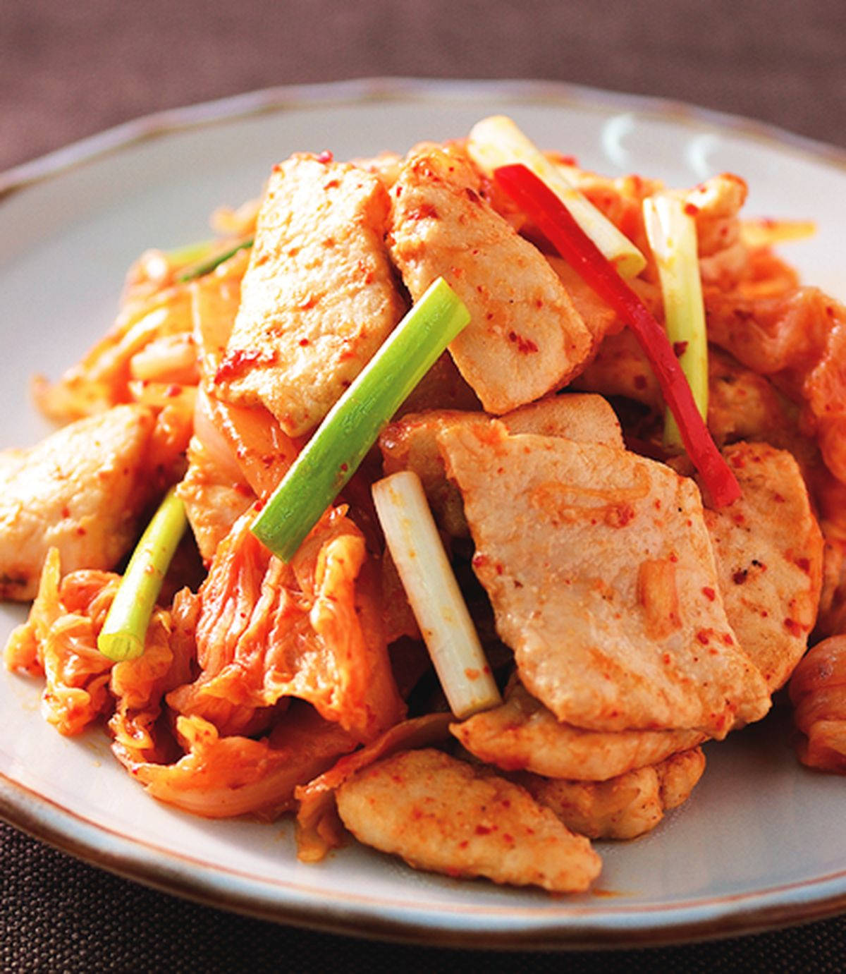 食譜:泡菜魚片
