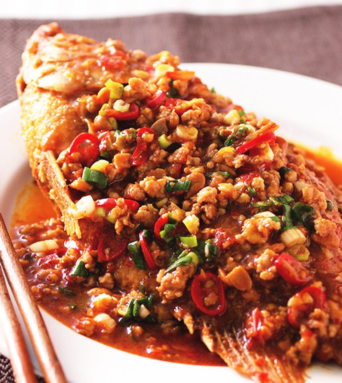 食譜:豆瓣魚(3)