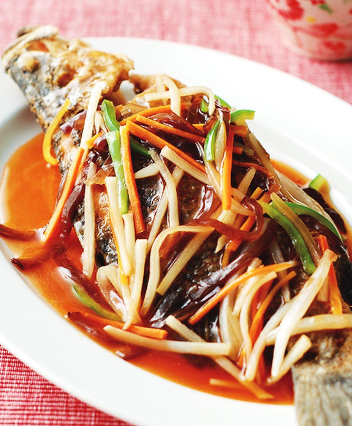 食譜:五柳魚
