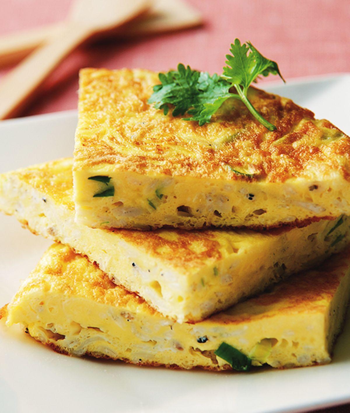 食譜:吻仔魚煎蛋(1)
