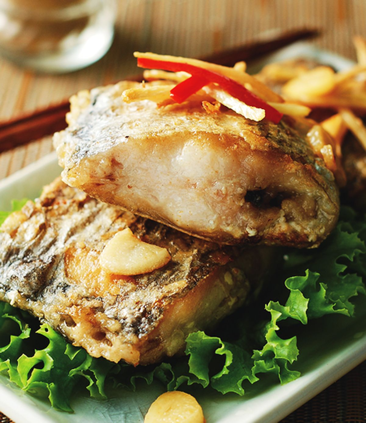 食譜:乾煎白帶魚(1)