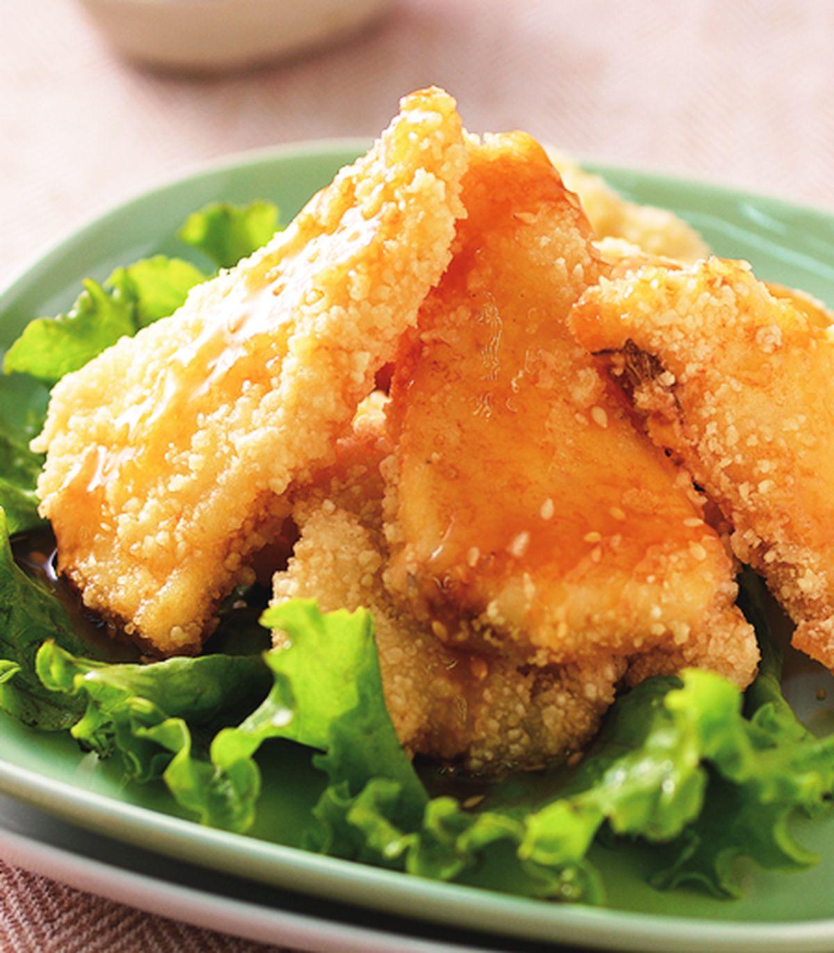 食譜:蜜汁魚片