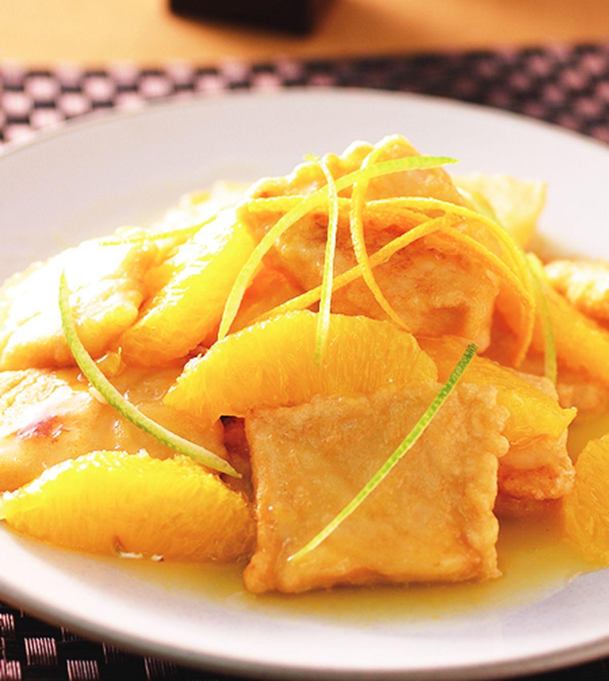 食譜:橙汁魚片