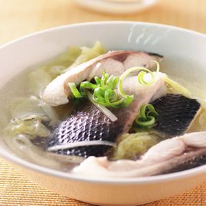 高麗菜酸魚湯