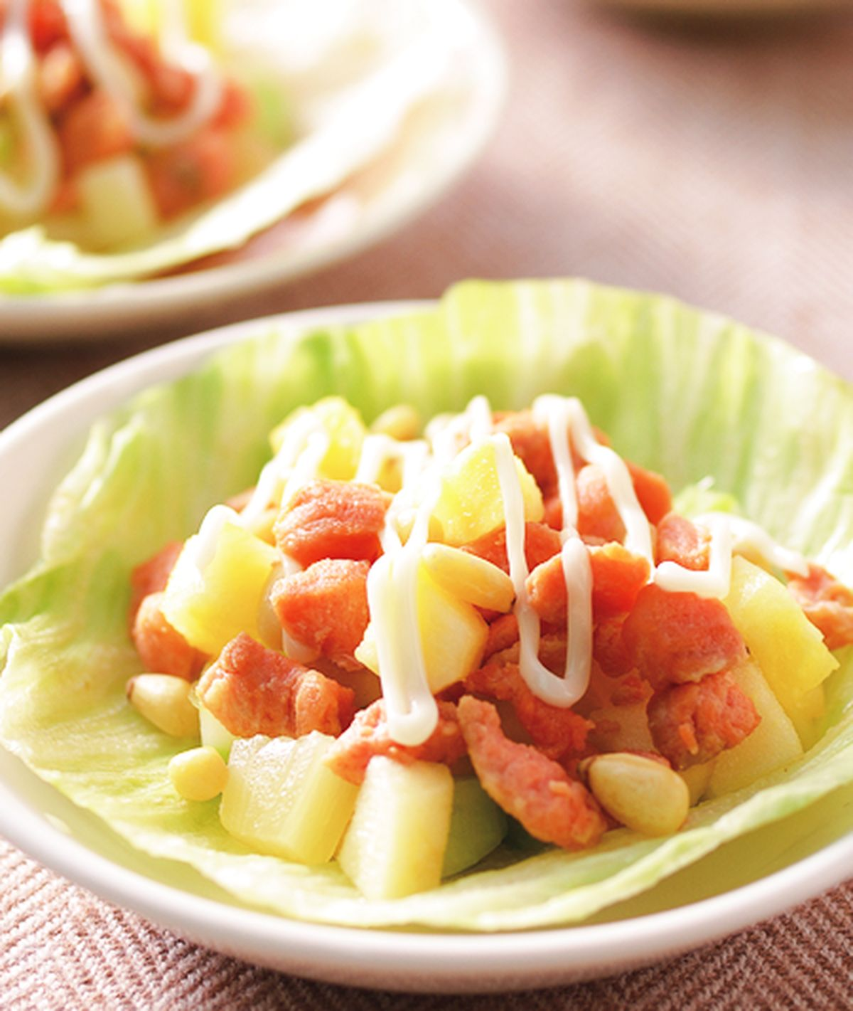 食譜:生菜鮭魚鬆(1)