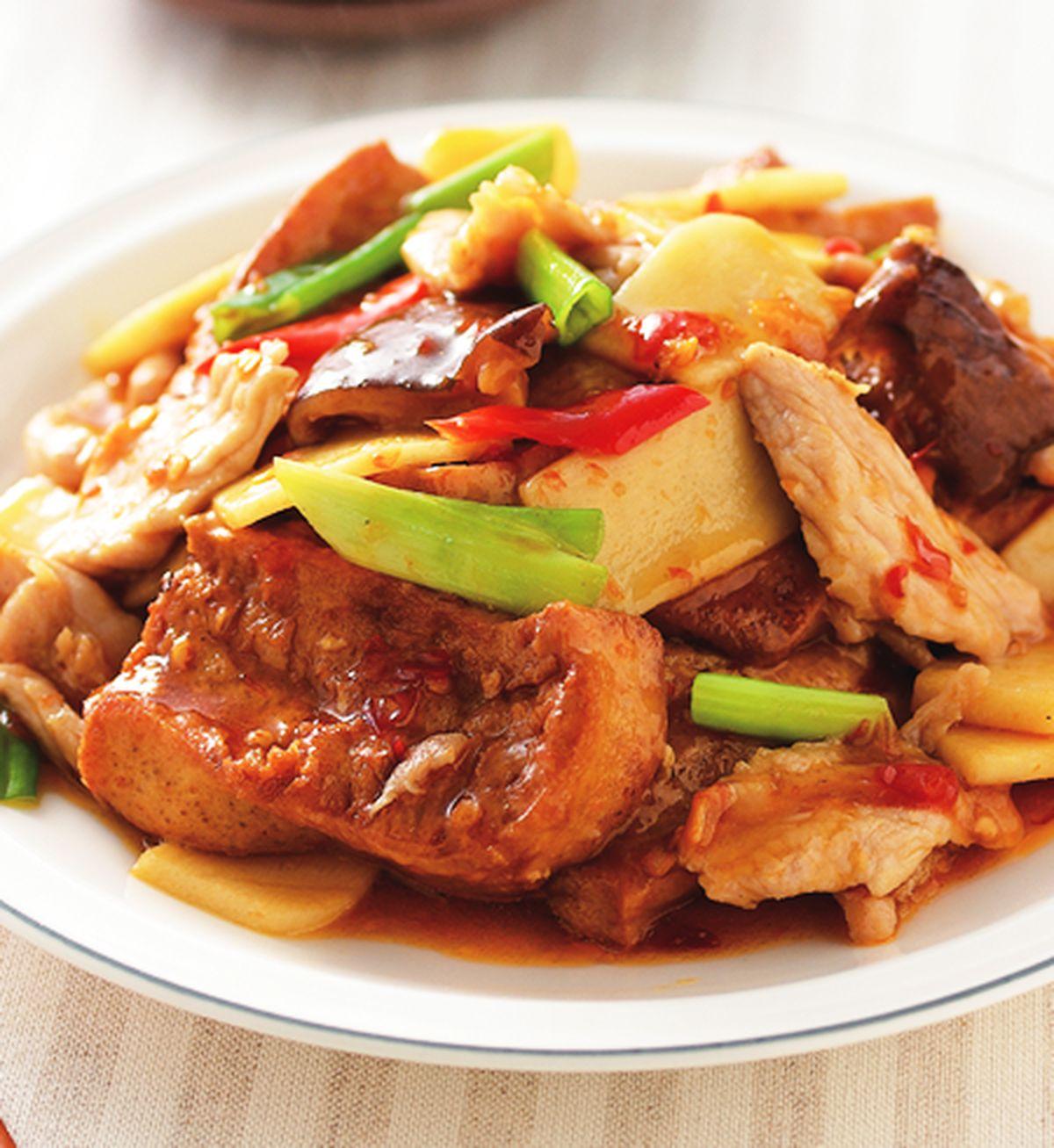 食譜:家常豆腐(2)