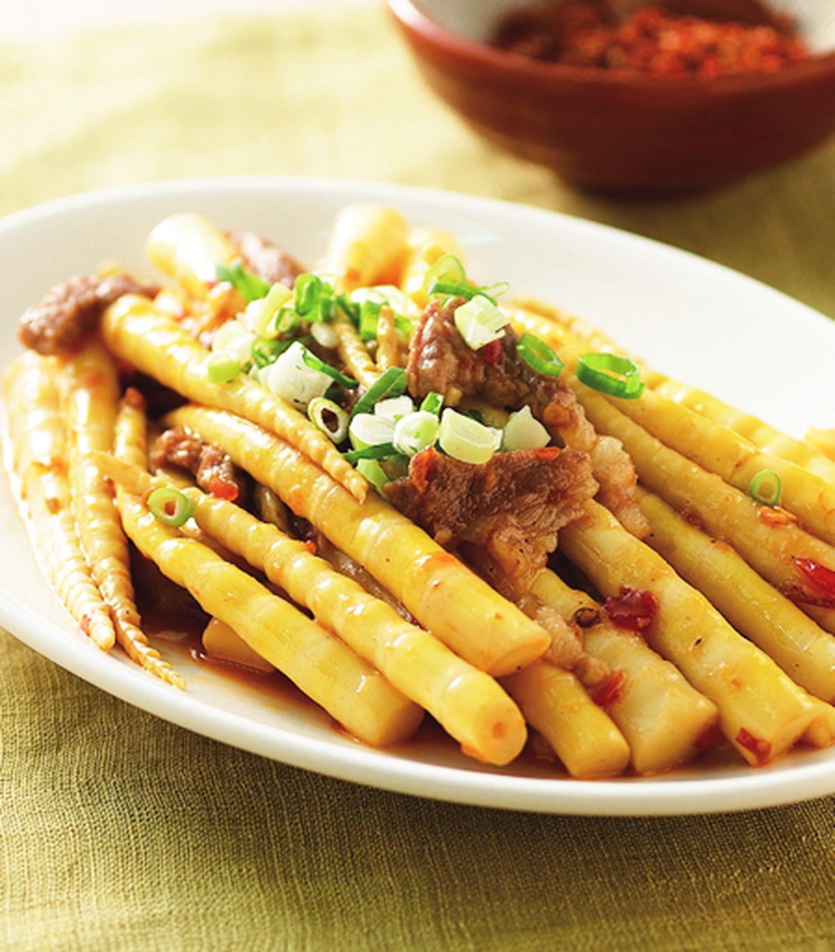 食譜:辣炒劍筍(2)