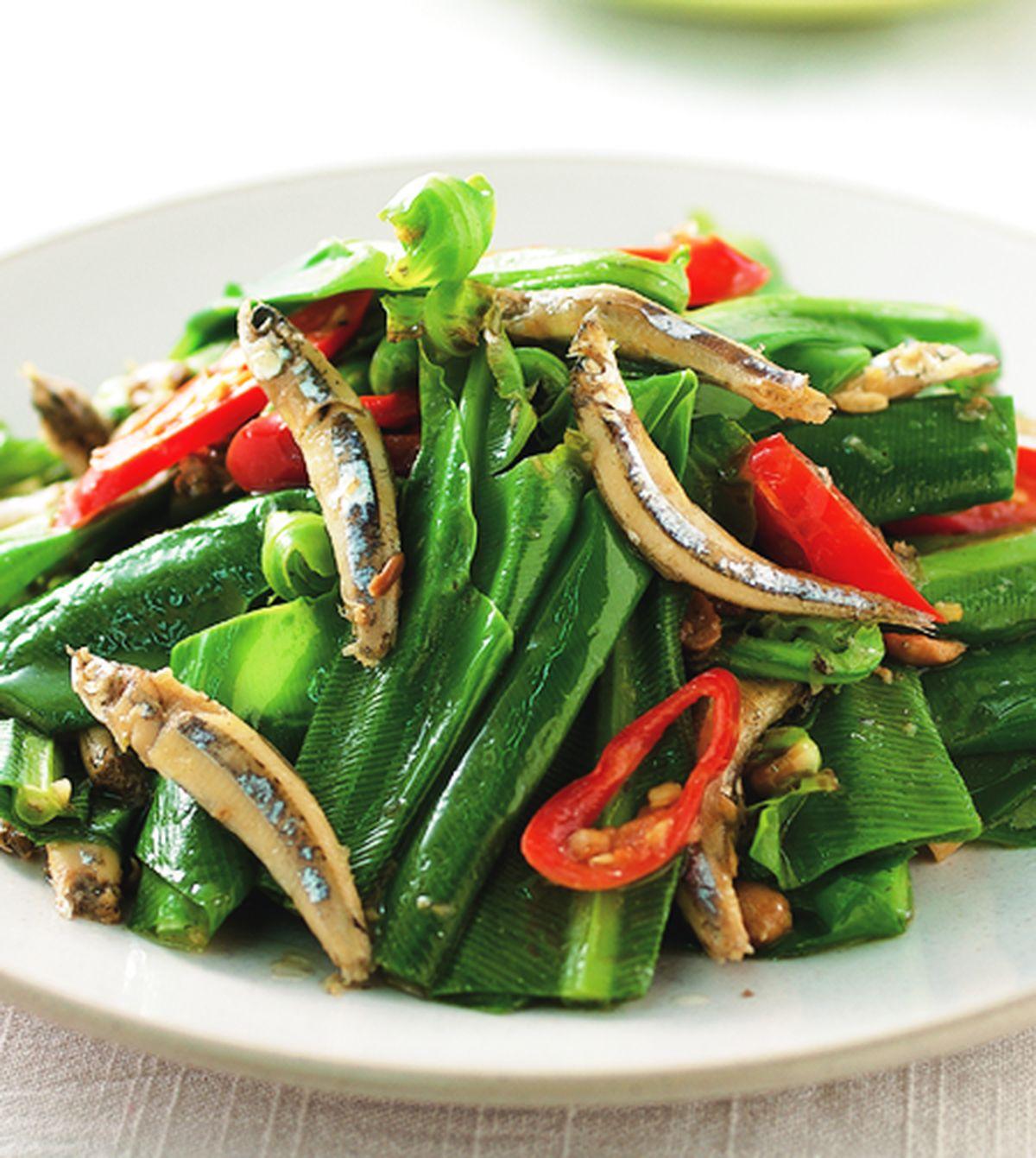 食譜:山蘇炒丁香