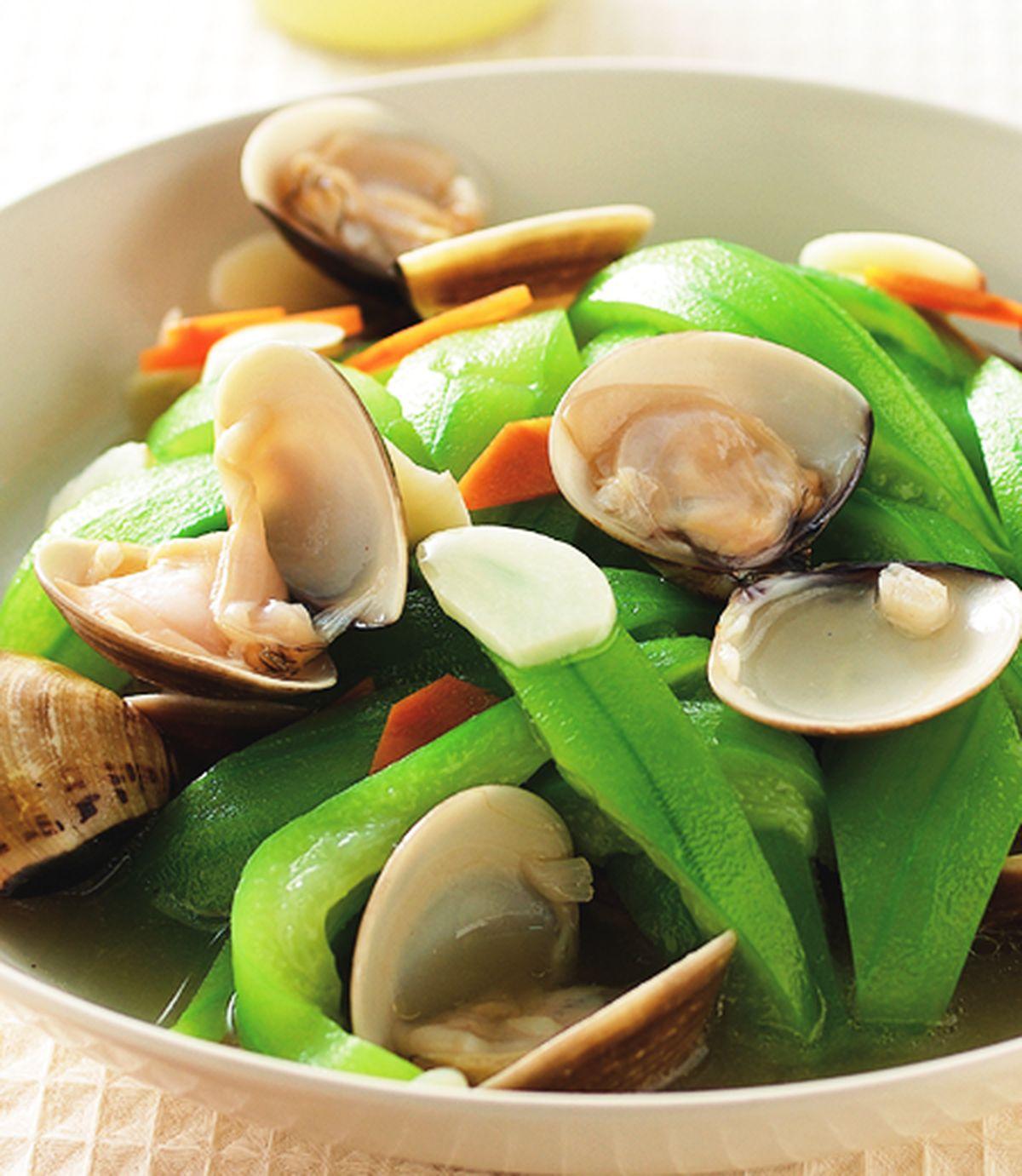 食譜:絲瓜炒蛤蜊