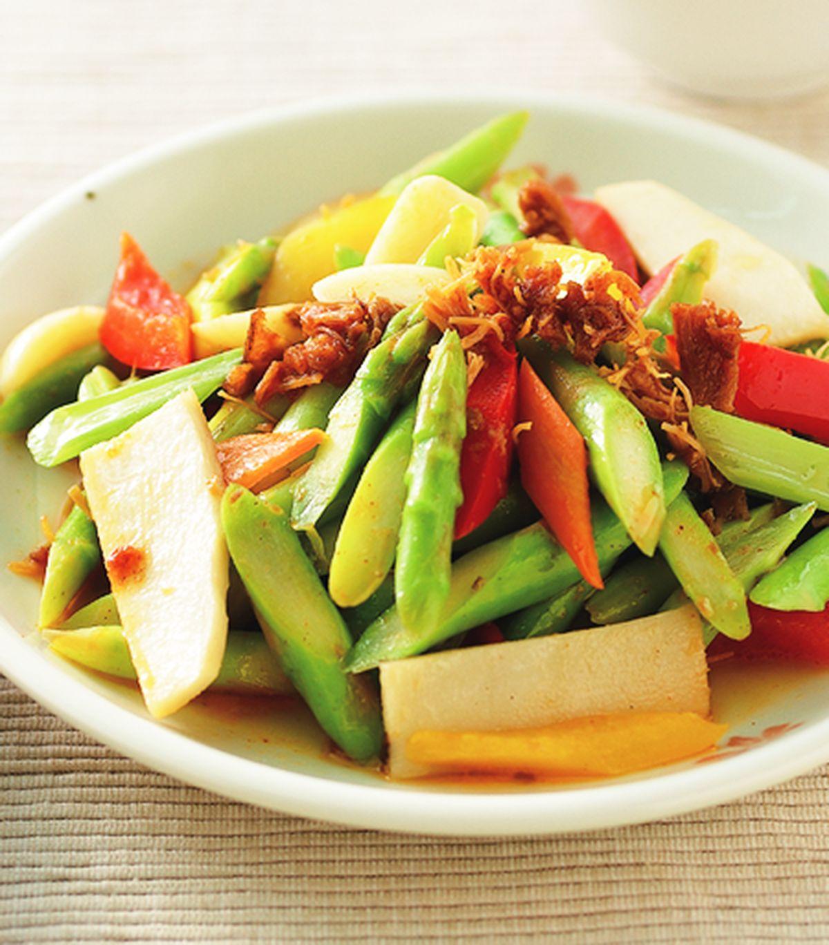 食譜:XO醬炒蘆筍