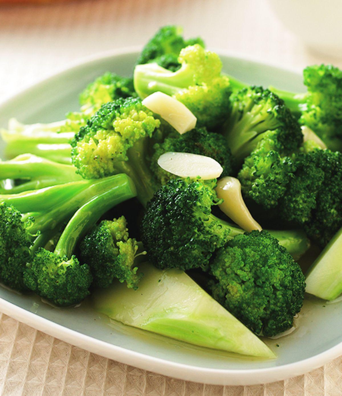 食譜:清炒花椰菜