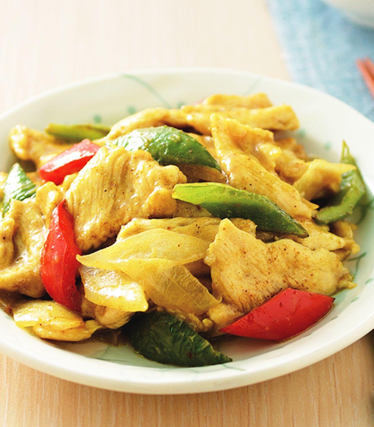 食譜:咖哩炒雞片