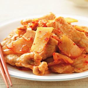 泡菜炒肉片(4)
