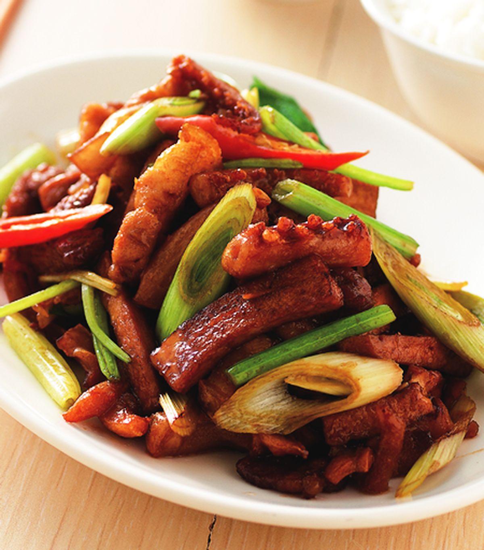 食譜:客家小炒(10)