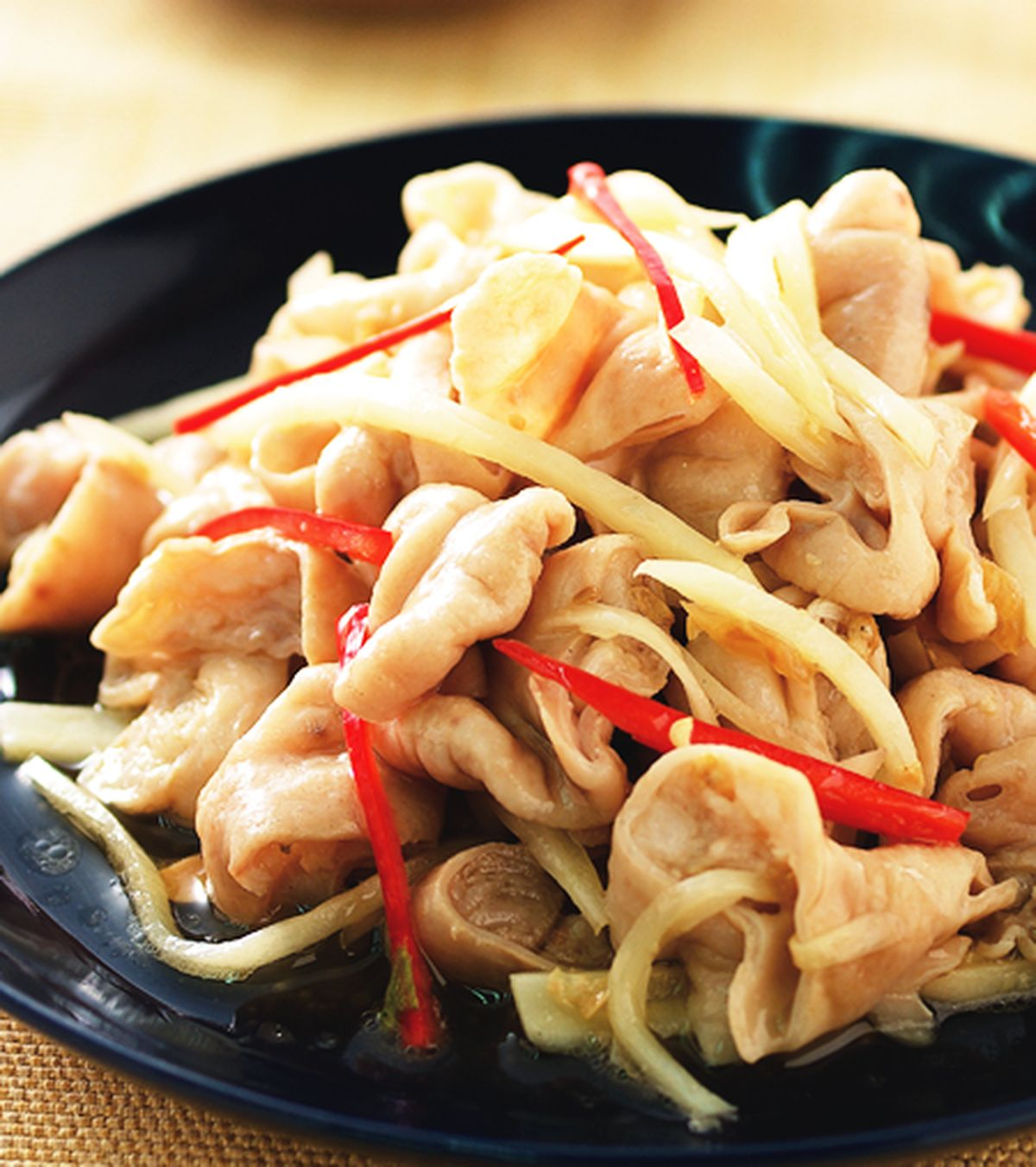食譜:薑絲炒大腸(3)