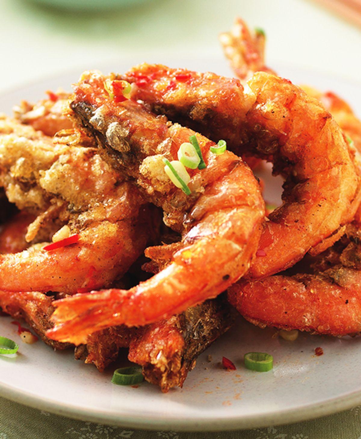 食譜:鹹酥蝦(1)