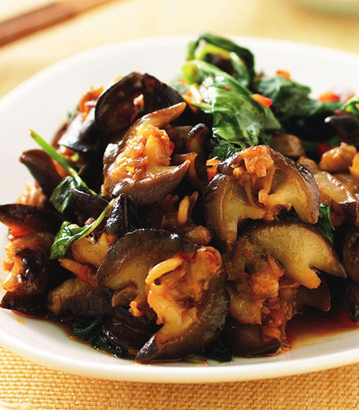 食譜:九層塔炒螺肉