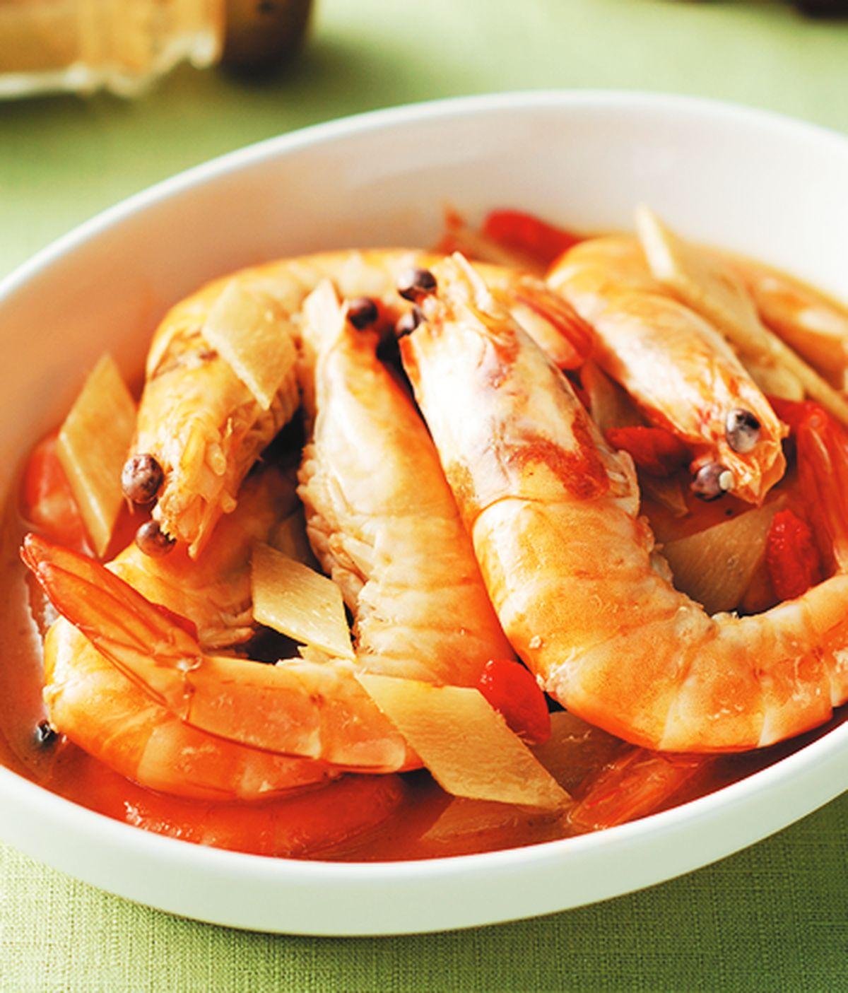食譜:麻油蝦(1)