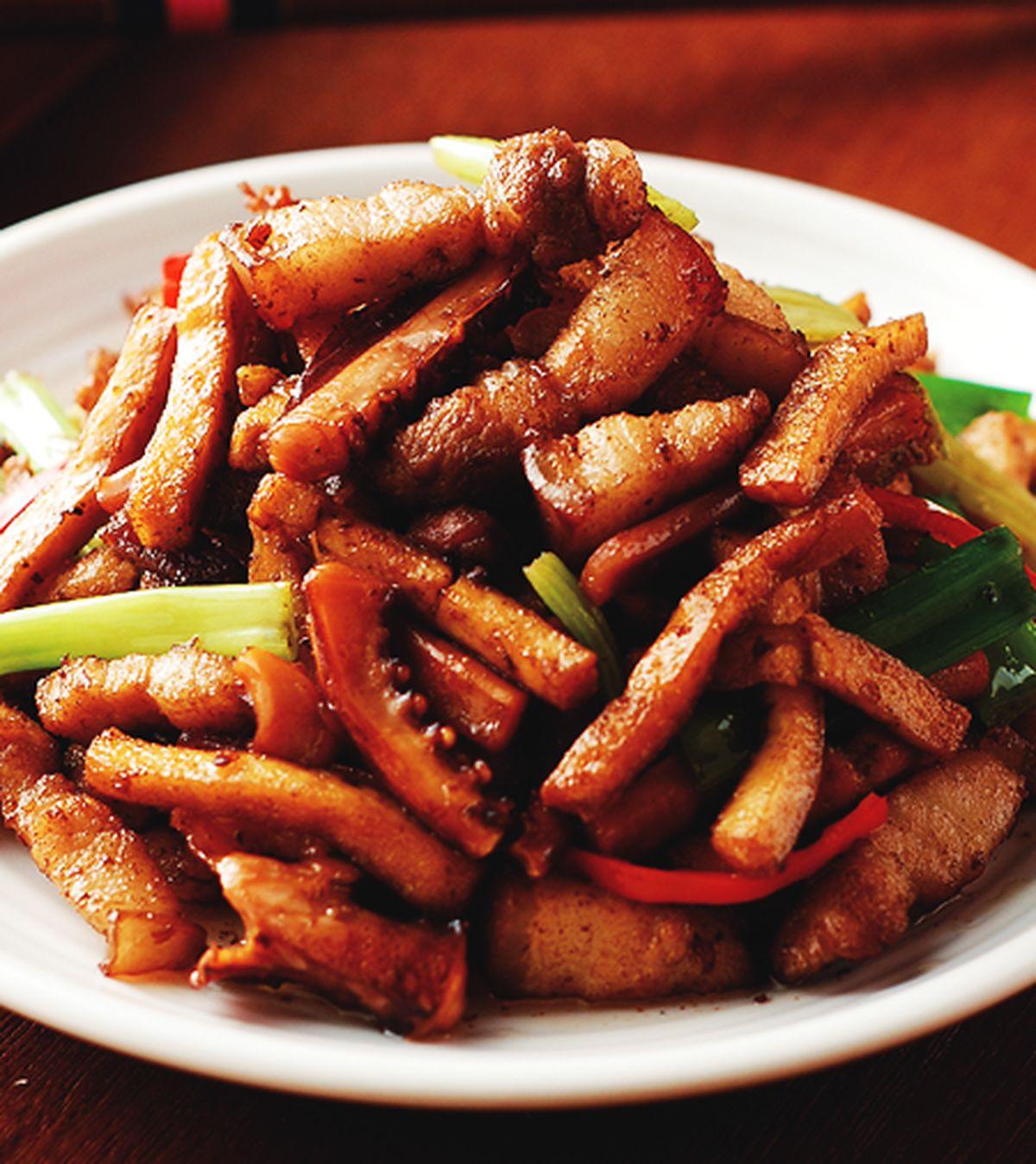 食譜:客家小炒(9)