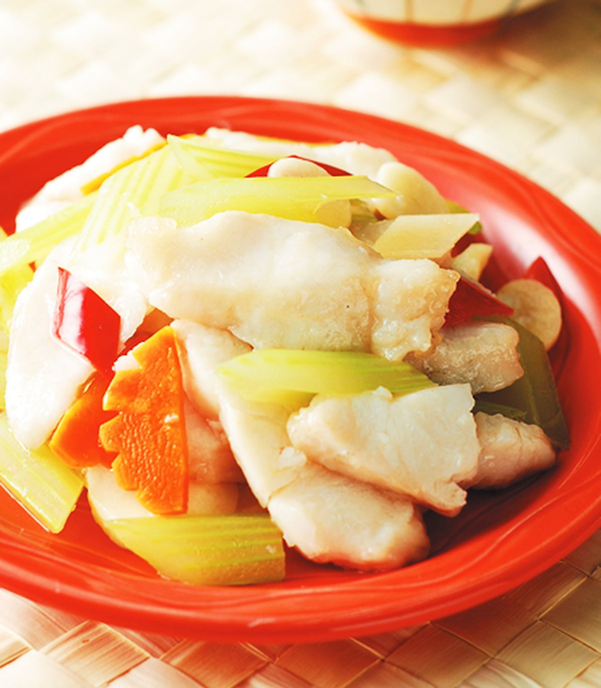 食譜:清炒魚片(1)