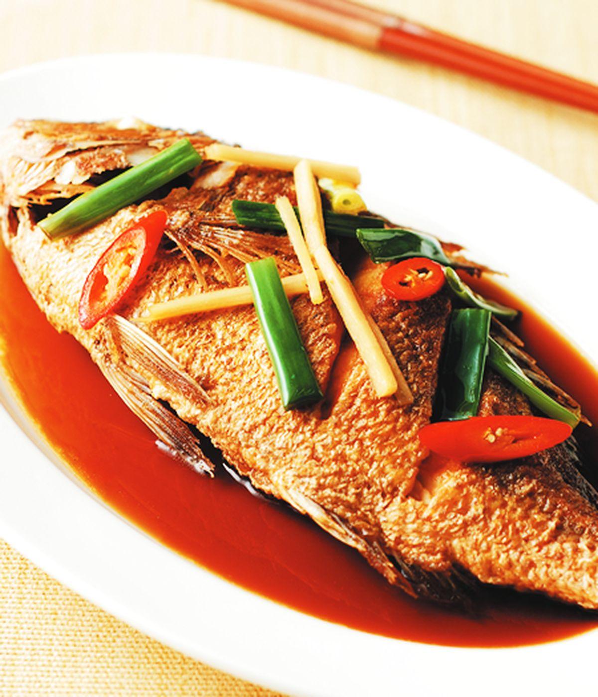食譜:紅燒魚(3)