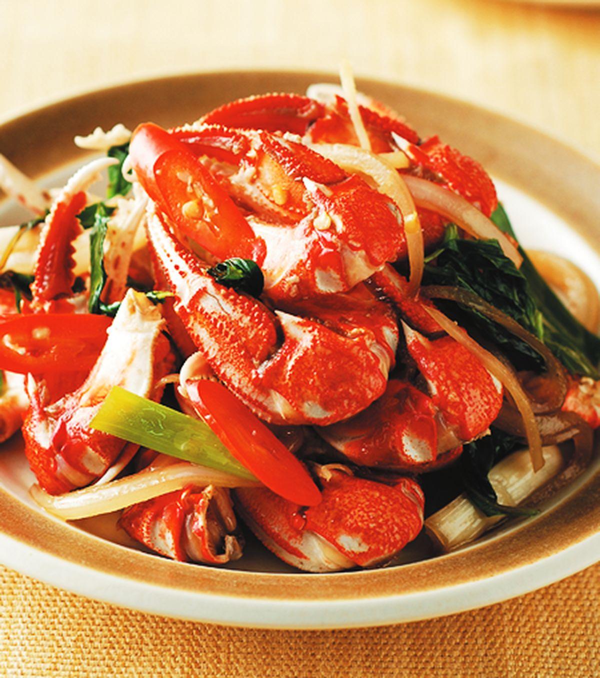 食譜:熱炒蟹腳