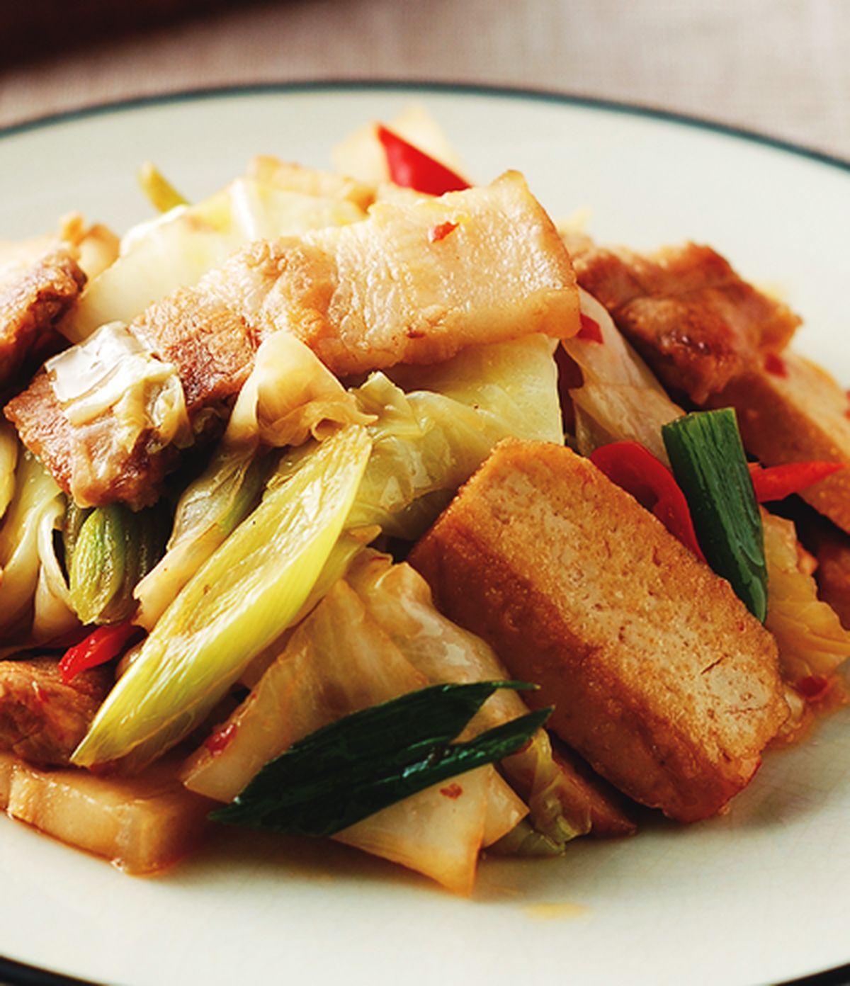 食譜:回鍋肉(5)
